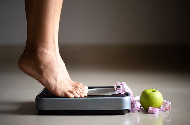 Every extra pound you gain puts 4 times the stress on your knees
